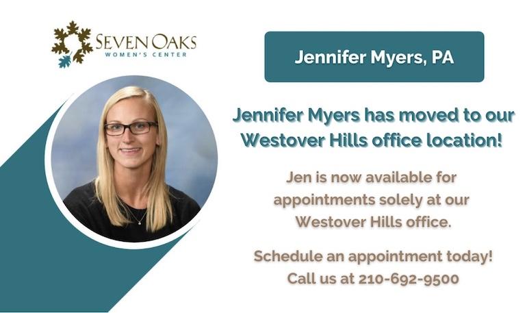 Jennifer Myers - Seven Oaks Women's Center